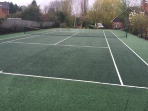 Tennis court cleaning surrey, guildford, cranleigh,
